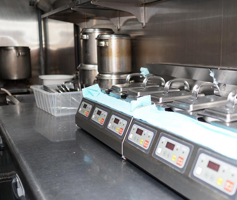 動きやすく使いやすい厨房快適コース